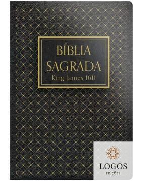 Bíblia King James Fiel 1611 - capa dura slim - preta. 9786556550701