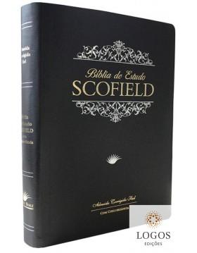 Bíblia de Estudo Scofield - ACF - capa PU luxo - preta. 9788575570760
