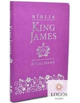 Bíblia King James Atualizada - capa slim - luxo lilás. 9786588364109