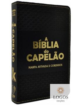 A Bíblia do Capelão - ARC - letra grande - capa luxo - preto. 7908084608934