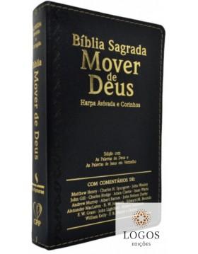 Bíblia Sagrada Mover de Deus - ARC - capa luxo - preto. 7908084609009