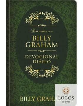 Dia a dia com Billy Graham - 366 meditações diárias - edição de capa dura. 9786586078237