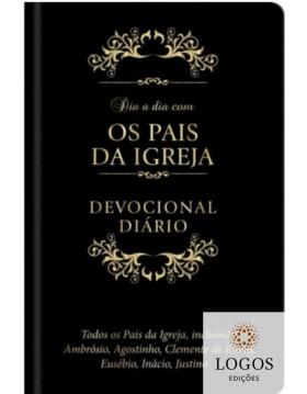 Dia a dia com os pais da igreja - devocional diário - edição de luxo. 9781646410149