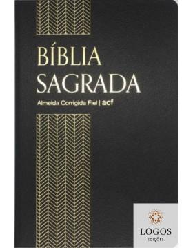 Bíblia Sagrada - ACF - capa semi-flexível - Preto. 9786556550503