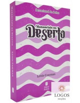Mananciais no deserto - edição de bolso - capa rosa. 9786589540052. Lettie Cowman