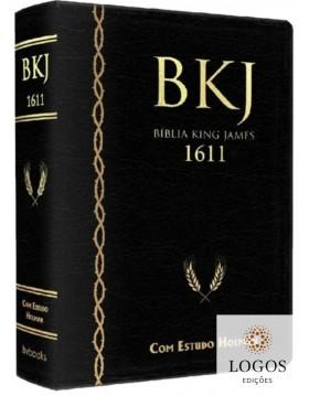 Bíblia de Estudo King James 1611 (com Estudo Holman) - capa preta. 9788581581811