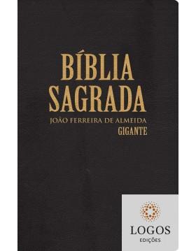 Bíblia Sagrada - RC - letra gigante - capa semi-luxo preta. 7897185854237