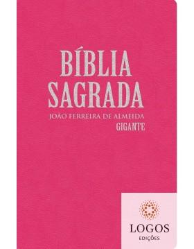 Bíblia Sagrada - RC - letra gigante - capa semi-luxo rosa. 7897185854244
