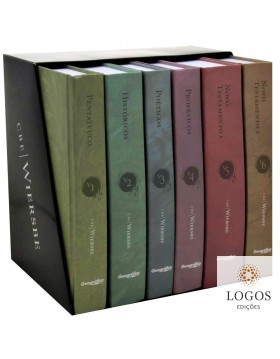 Comentário bíblico expositivo Wiersbe - 6 volumes. 7897185810721. Warren W. Wiersbe