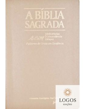 Bíblia Sagrada RCM - ACF - letra gigante - capa PU luxo - Rosa gold. 7898572201788