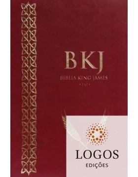 Bíblia King James 1611 - capa ultra-fina - luxo vermelha. 9788581581408