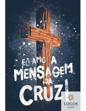 Bíblia Sagrada - NAA - capa dura soft touch - mensagem da cruz. 7908249101447
