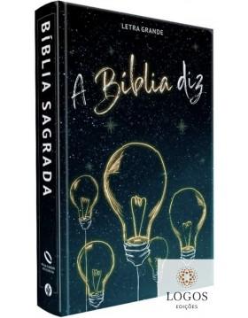 A Bíblia diz - NAA - letra grande - capa dura - lâmpadas. 9781646410286