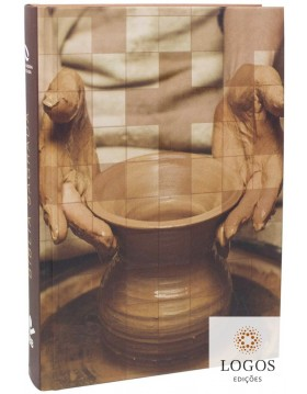Bíblia Sagrada - NAA - letra grande - capa dura - oleiro. 7899938410684