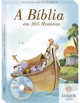 A Bíblia em 365 Histórias - audiolivro. 9788537641941