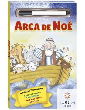 História bíblica e passatempos - escreva e apague - Arca de Noé. 9788537632192