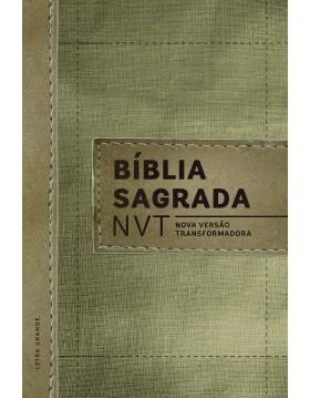 Bíblia Sagrada - NVT - capa dura com letra grande - Linho